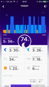 jawbone sleep today
